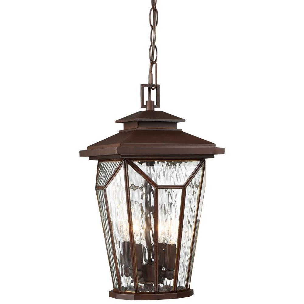 Satomi 4-Light Alder Bronze Hanging Light