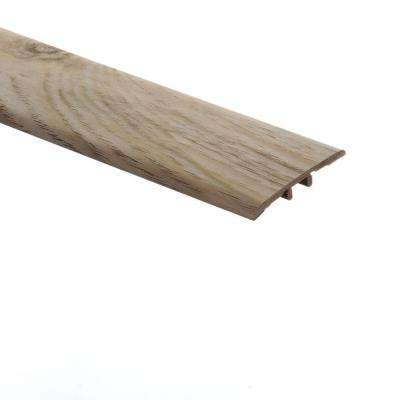 Alpine Elm 5/16 in. Thick x 1-3/4 in. Wide x 72 in. Length Vinyl T-Molding