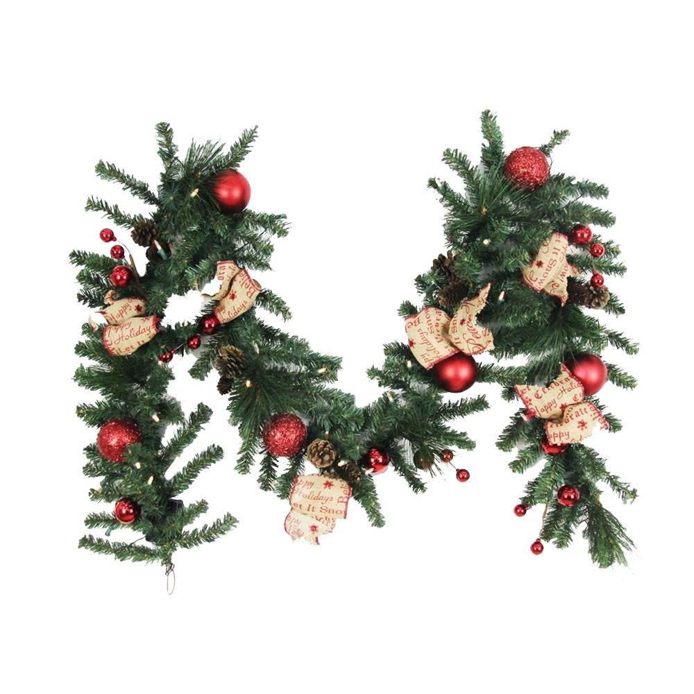 Martha Stewart Living - Christmas Garland - Christmas Greenery - The ...