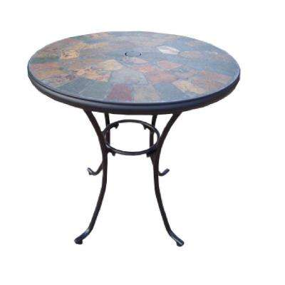 Stone Art 26 in. Patio Bistro Table