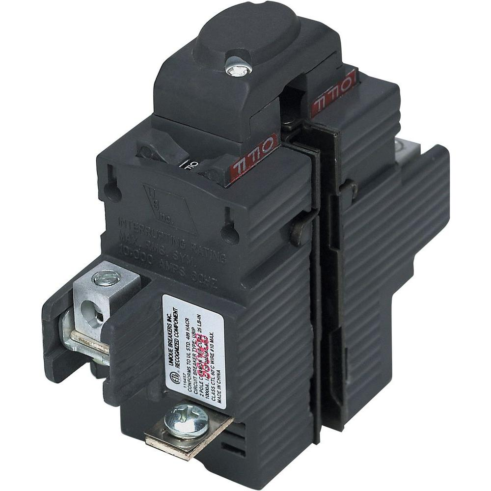 Pushmatic New UBIP 60 Amp 1-1/4 in. 2-Pole Pushmatic Replacement Circuit Breaker