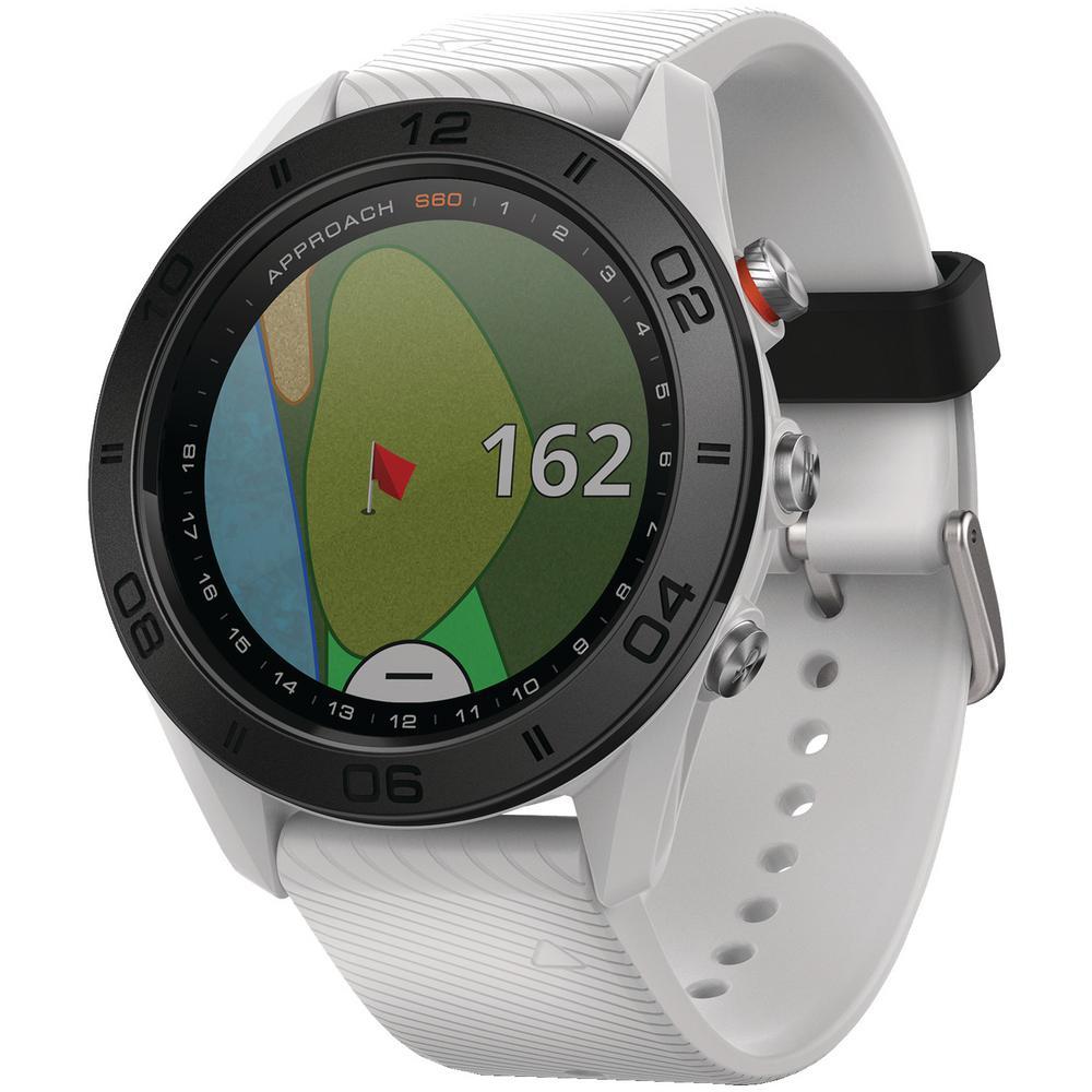 Garmin Approach S60 White Golf Watch