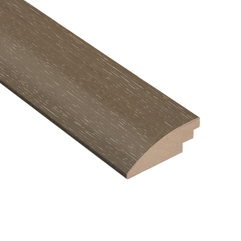 Wire Brushed Hickory Grey 3/8 in. Thick x 2 in. Wide