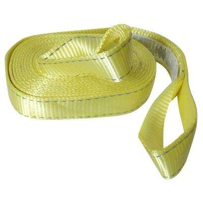 2 in. x 20 ft. Tow Strap Rope with Loop
