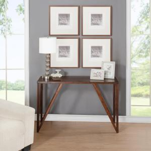 Foremost Bali Old World Chestnut Console Table CNO 01281   The Home Depot