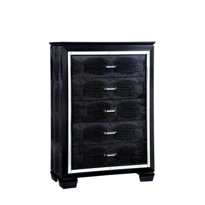 Bellanova Black Contemporary Style Chest of Drawers