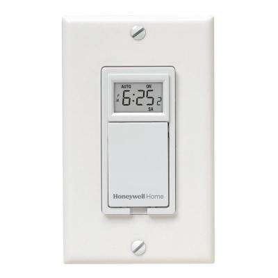 120-Volt 7-Day Programmable Indoor Motor and Light Switch Timer