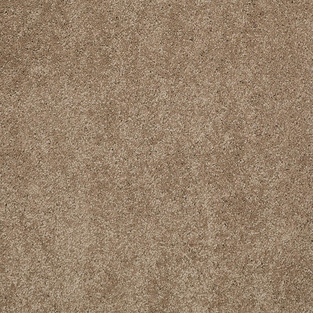 LifeProof Carpet Sample - Coral Reef I - Color Desert Earth Texture 8 in. x 8 in.