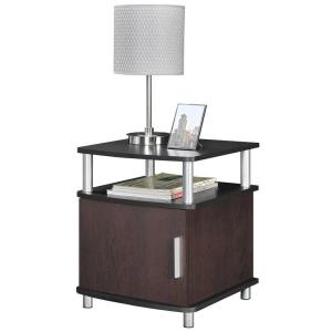 Altra Furniture Carson Cherry and Black End Table by Altra Furniture
