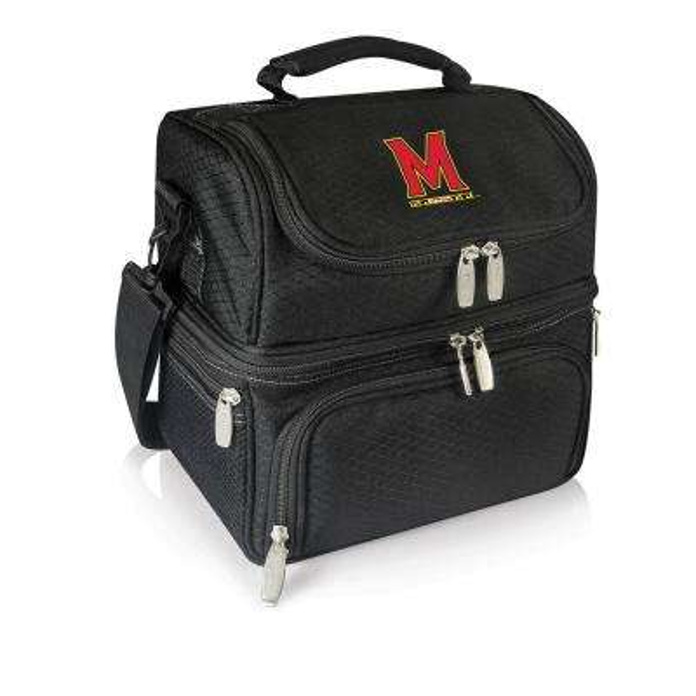 Pranzo Black Maryland Terrapins Lunch Bag