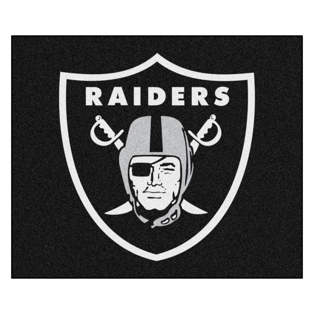 NFL 6 ft. x 5 ft.Las Vegas Raiders Rug