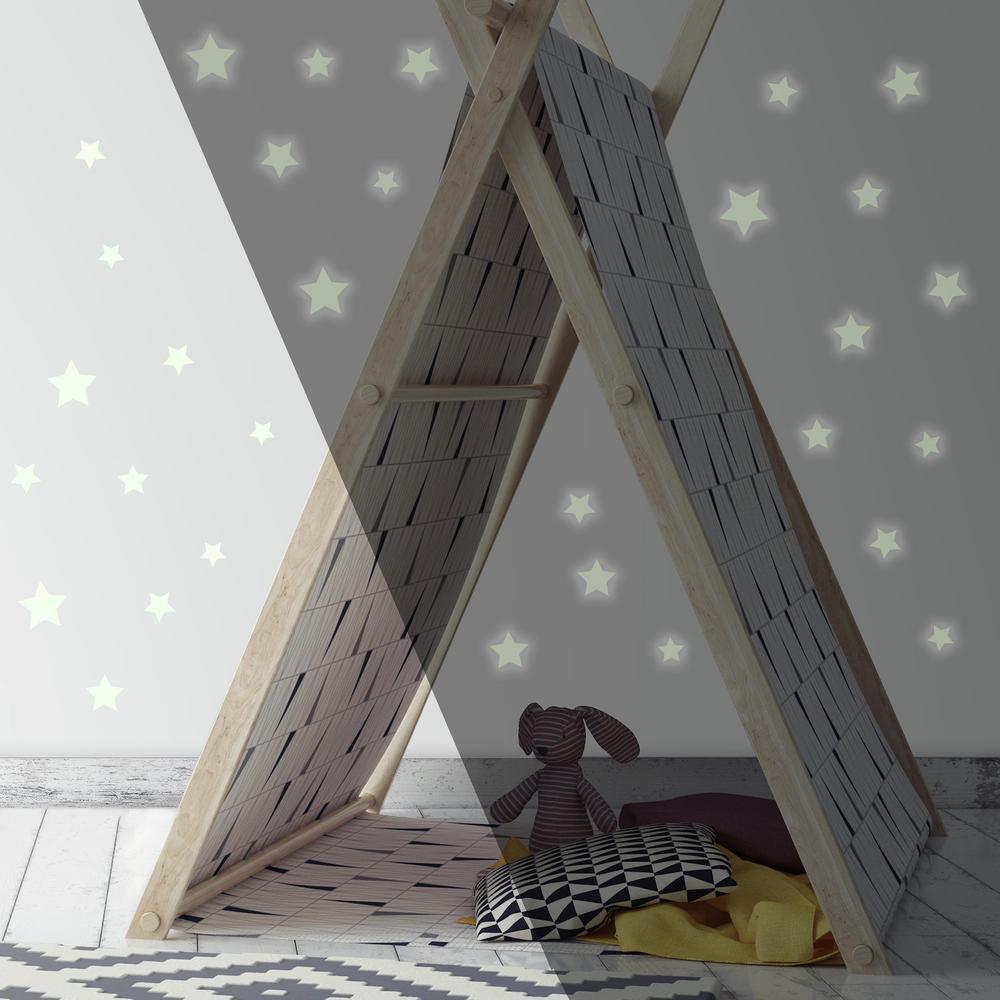 RoomMates 5 in. x 11.5 in. Glow in the Dark Stars