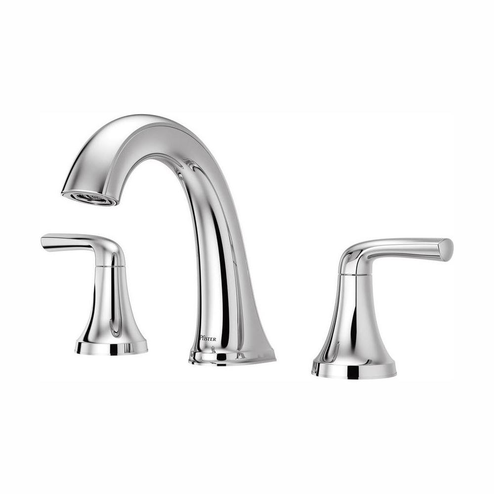 Pfister Ladera 8 in. Widespread 2-Handle Bathroom Faucet in Polished Chrome