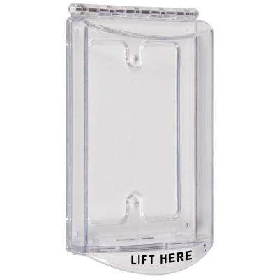 Single-Gang Clear Protective Polycarbonate Cover