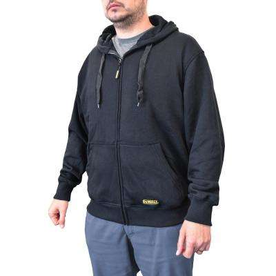 Men's X-Large 20-Volt MAX XR Lithium-Ion Black Hoodie Kit with 2.0 Ah Battery and Charge