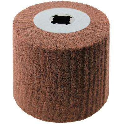 4 in. x 4 in. Nylon Web Grinding Wheel P900