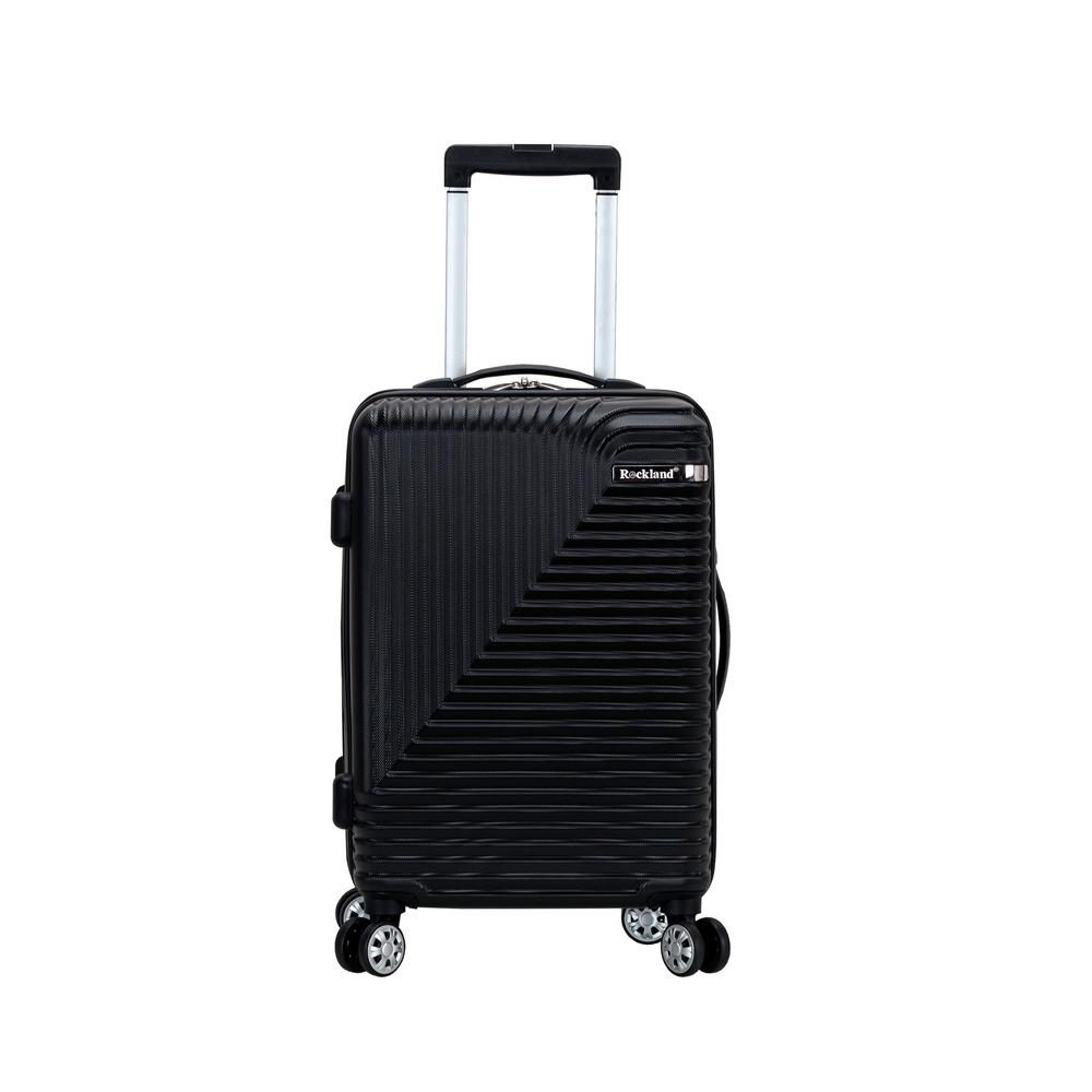 Star Trail 20 in. Black Hardside Spinner Suitcase