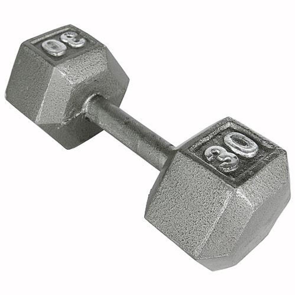 c4b0a0d990b Hex Dumbbell Weight Lifting Strength Training Exercise Fitness Gym Weider  30 lb
