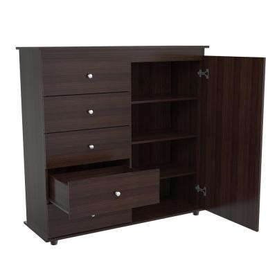 5-Drawer Espressso-Wengue Dresser