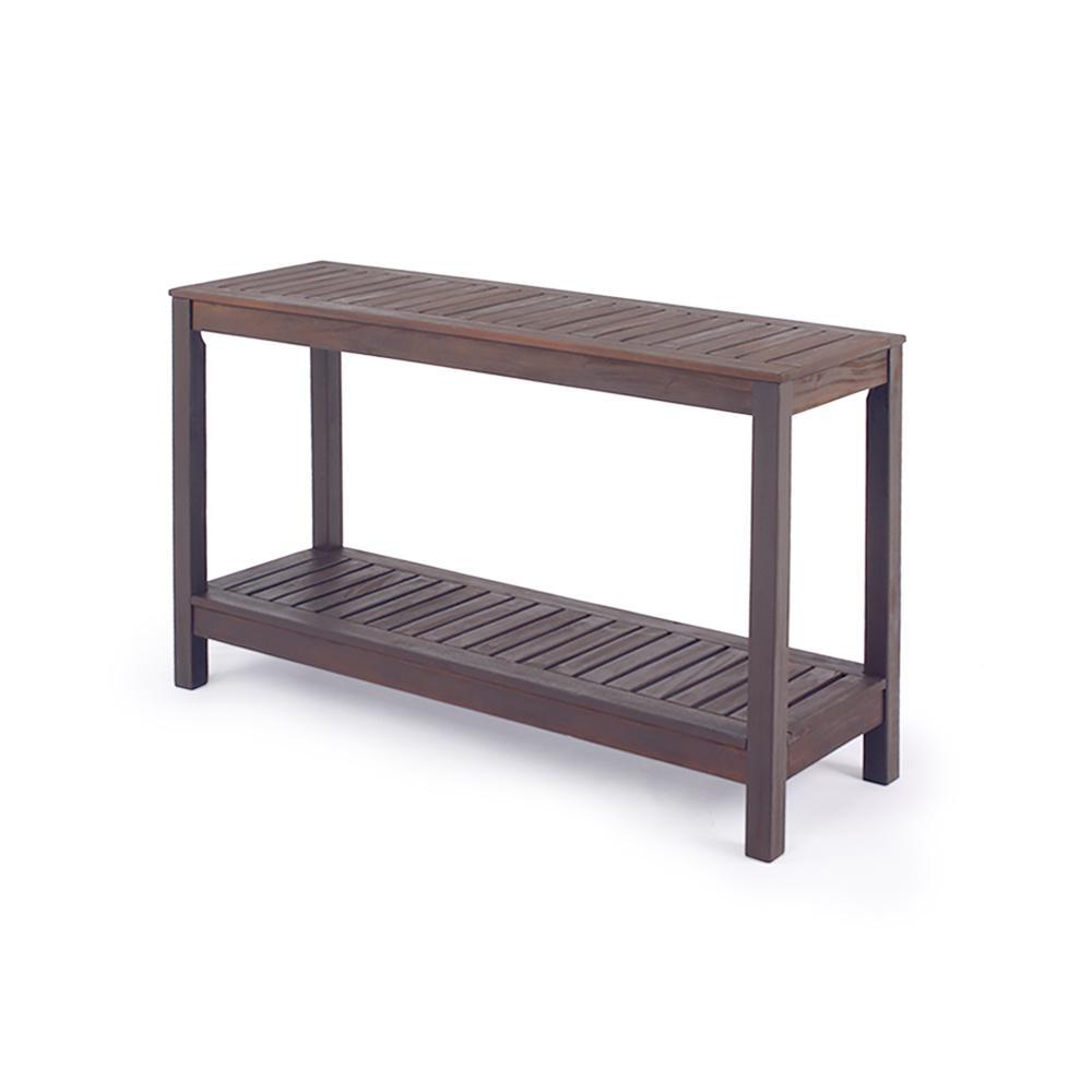 Braga Wood Outdoor Side Table