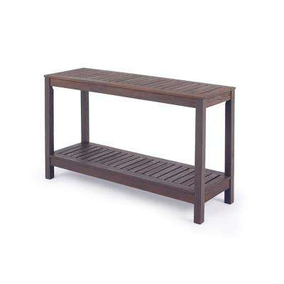 Braga Wood Outdoor Side Table