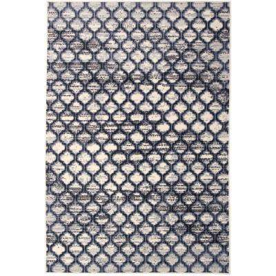 Briella Home Off-White 8 ft. x 10 ft. Area Rug
