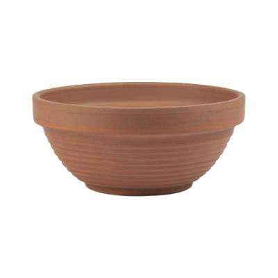 8.25 in. Deep Terra Cotta Bowl Planter