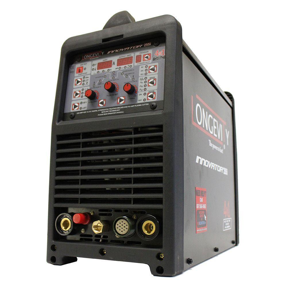 0973bf065df6 Longevity Innovator 255i 250 Amp Multi Process Welder with AC/DC Pulse