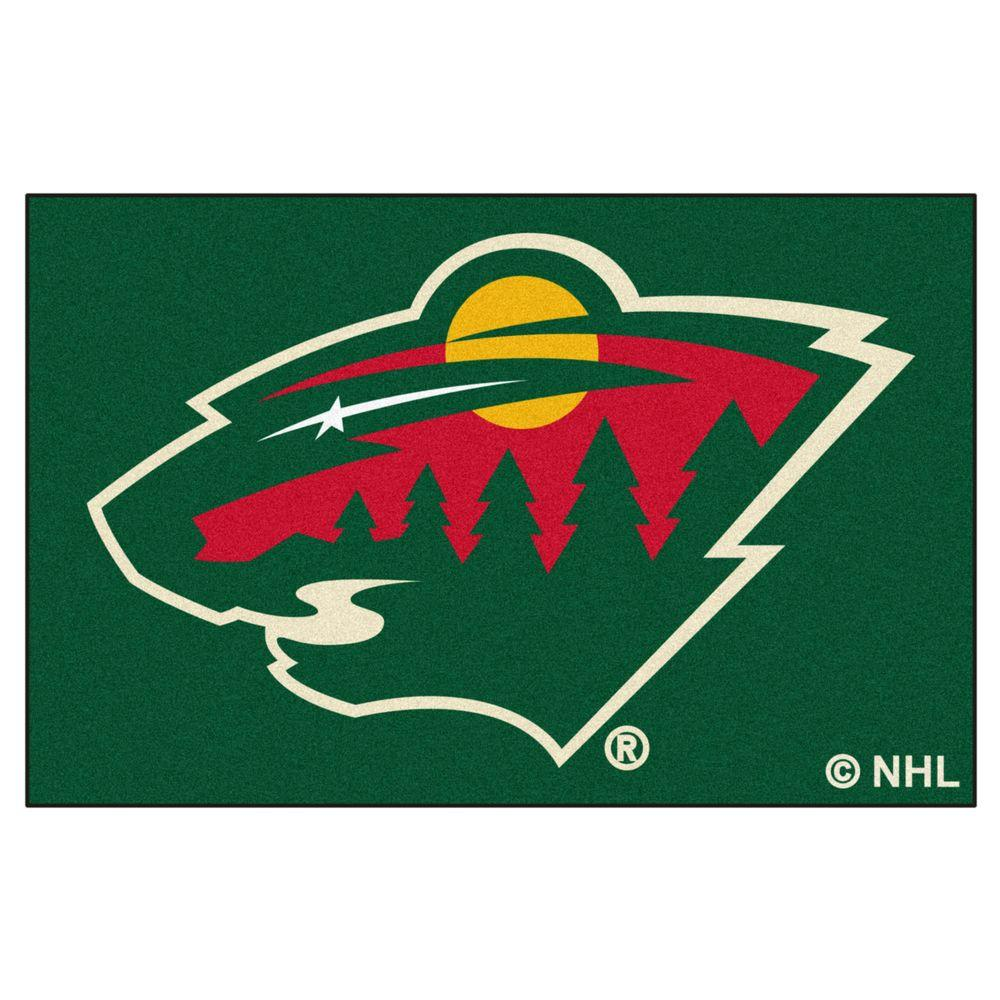 FANMATS Minnesota Wild 19 in. x 30 in. Accent Rug