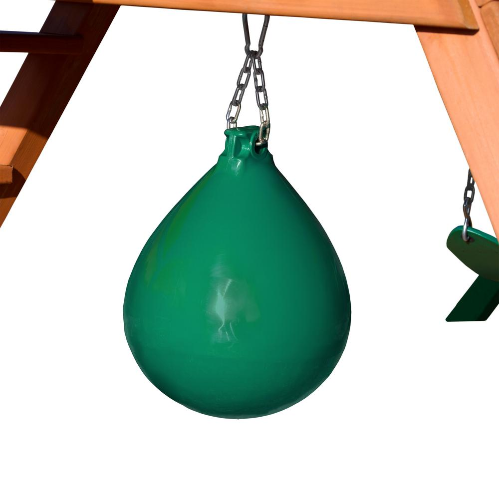 Green Punching Ball