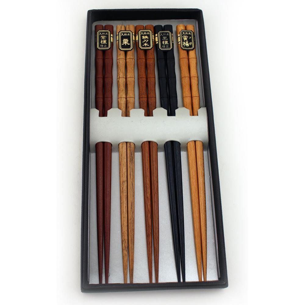 Bamboo Chopsticks (Set of 5)