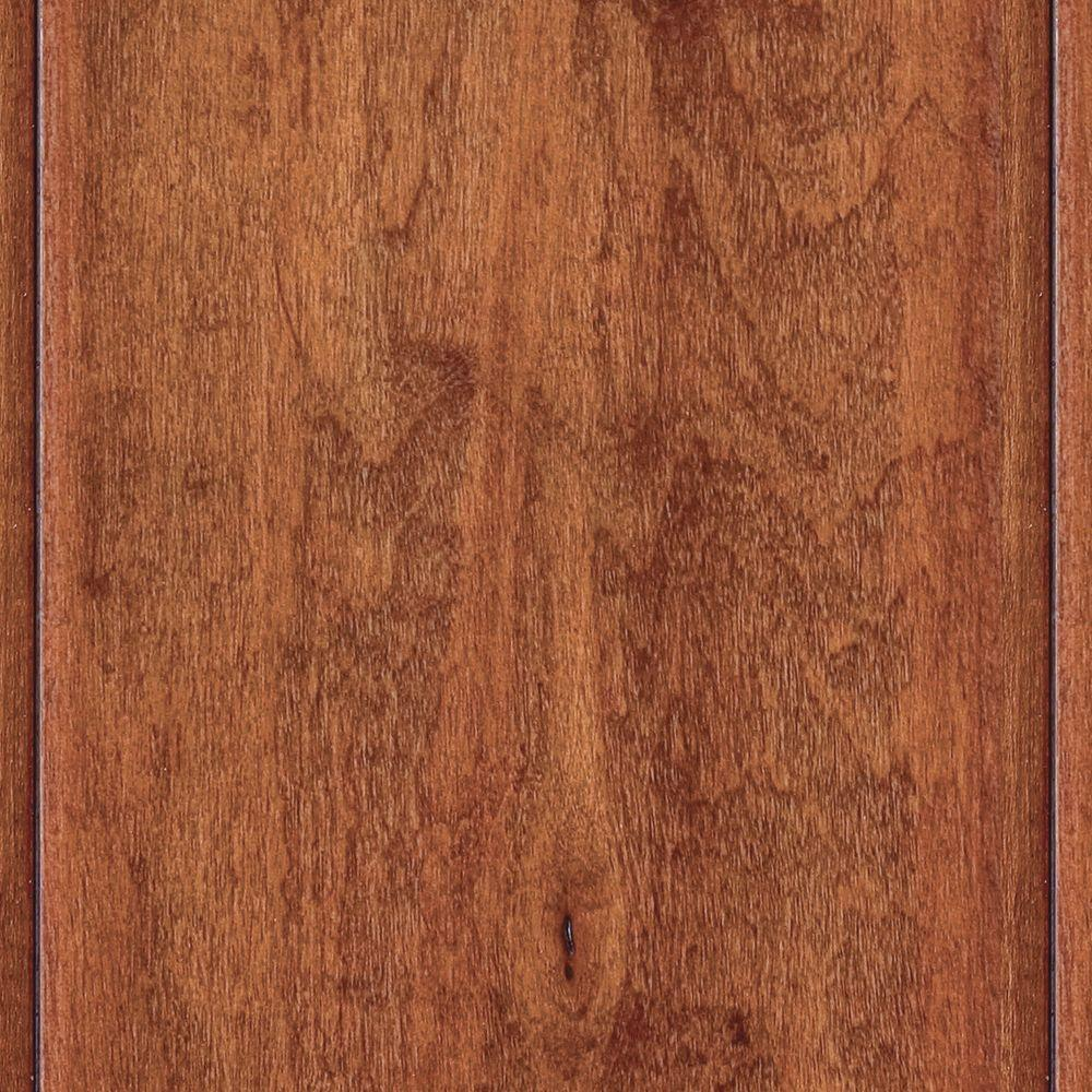 Home Legend Hand Scraped Maple Messina 3/8 in. x 4-3/4 in. x 47-1/4 in. Click Lock Hardwood Flooring (24.94 sq.ft/cs)-DISCONTINUED