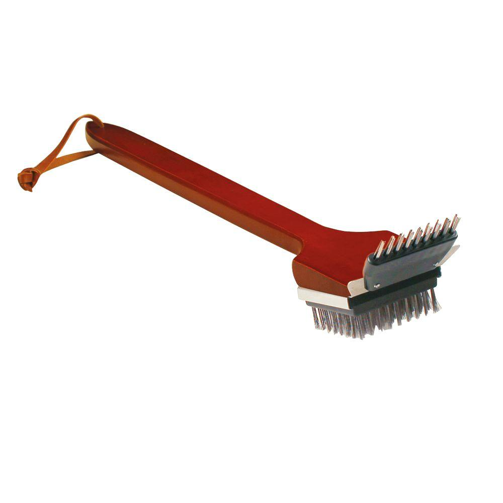 Grill Daddy Little Wood Brush, Wood And Steel