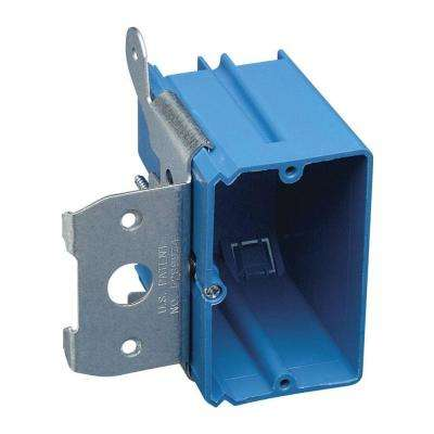 1-Gang 21 cu. in. New Work Non-Metallic Electrical Wall Box with Adjustable Bracket (Case of 40)