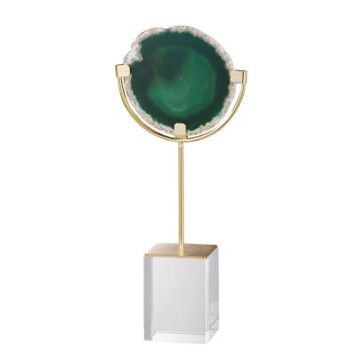 Green Large Floating Agate