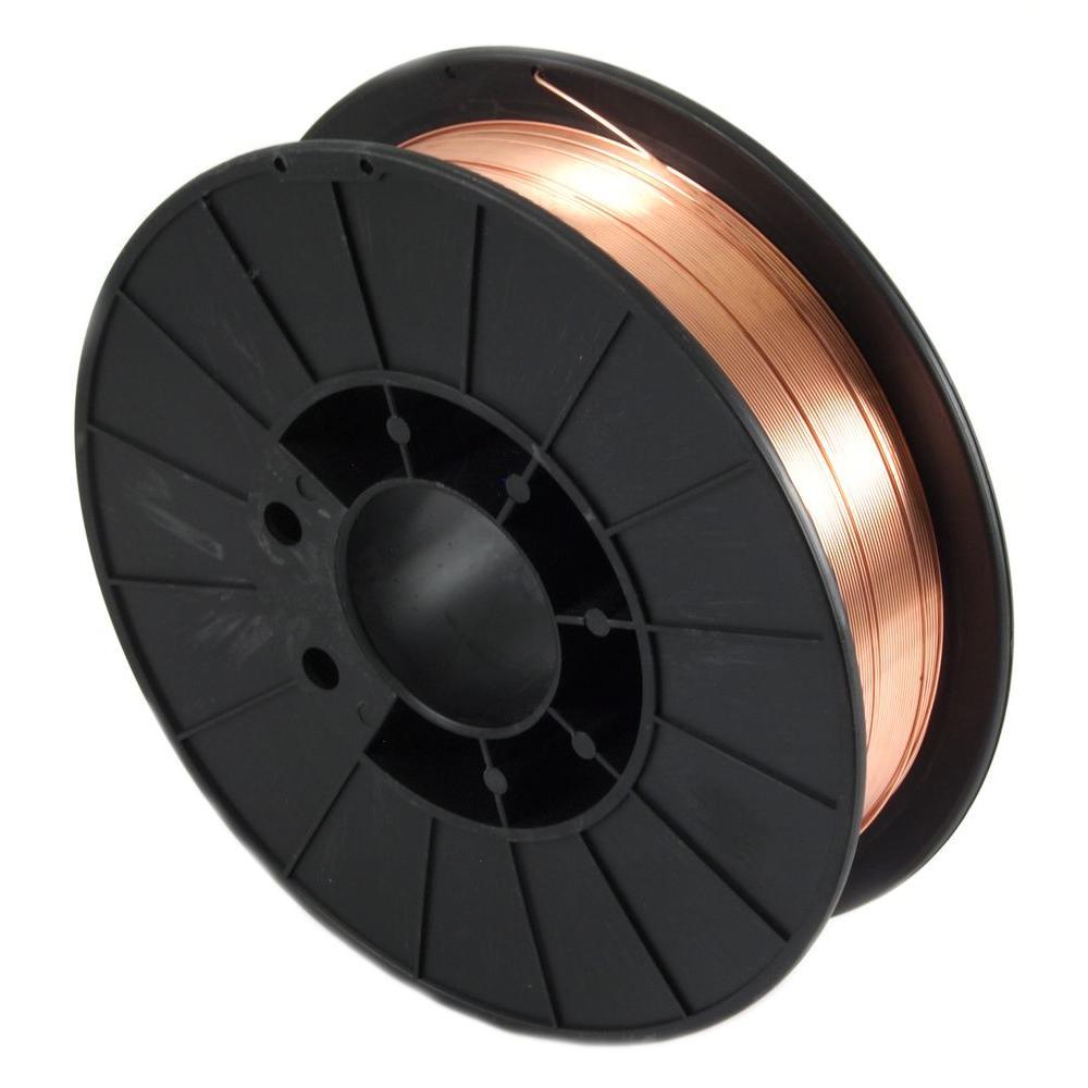 0.035 Dia E70S-6 Mild Steel MIG Wire 10 lb. Spool