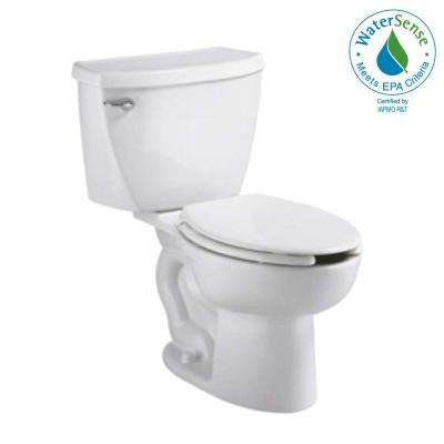 Cadet FloWise Tall Height Pressure-Assisted 2-piece 1.1 GPF Elongated Toilet in White