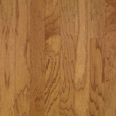 Take Home Sample - Town Hall Exotics Hickory Smoky Topaz Engineered Hardwood Flooring - 5 in. x 7 in.
