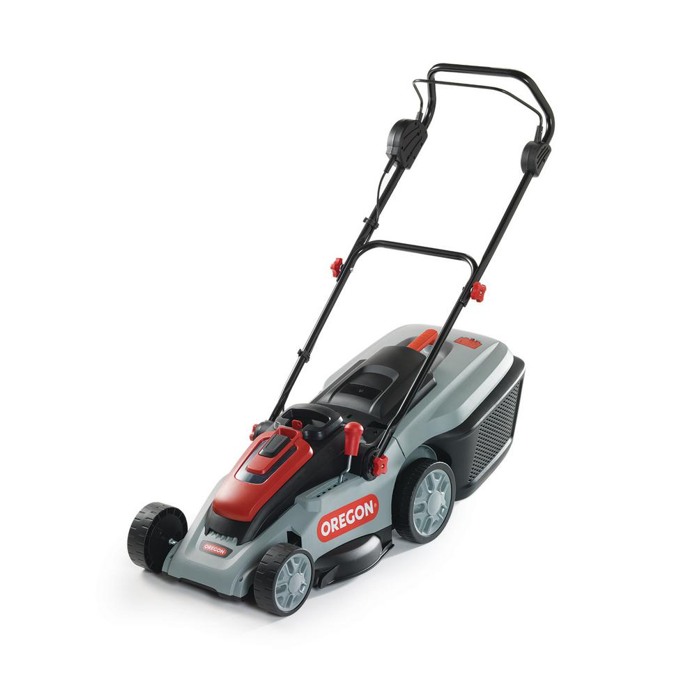 16 in. 40-Volt Brushless Lithium-Ion Cordless Battery Walk Behind Push Lawn