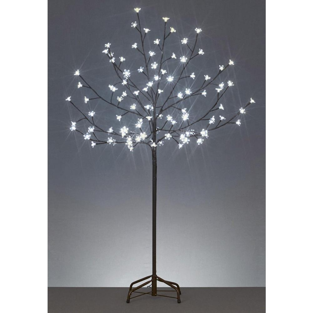 8c4bad404bab Northlight 6 ft. LED Lighted Cherry Blossom Flower Tree and Warm ...