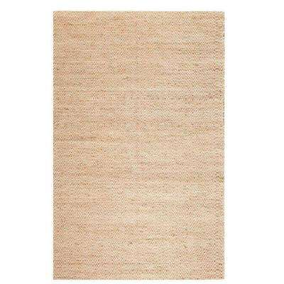 Zigzag Natural 8 ft. x 11 ft. Area Rug