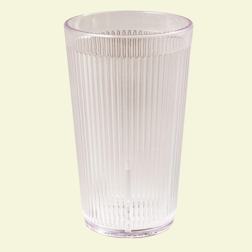 12 oz. SAN Plastic Tumbler in Clear (Case of 48)
