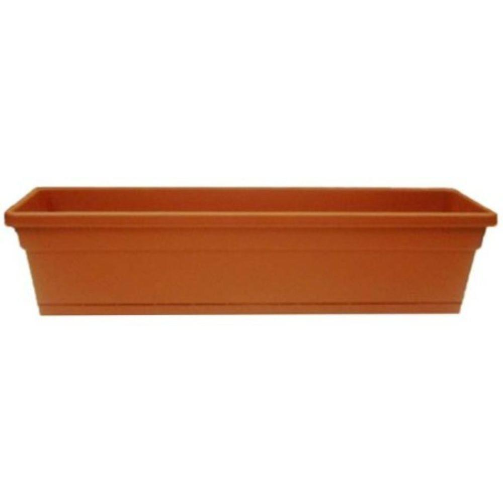 ames 8 in x 30 in plastic window box 2807 the home depot