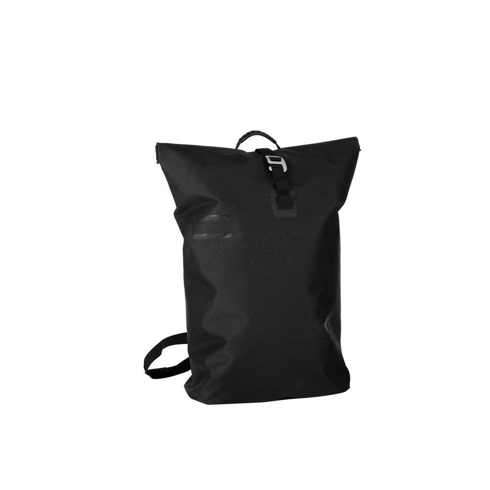 Camino 2.5 in. Waterproof Black Roll-Top Backpack