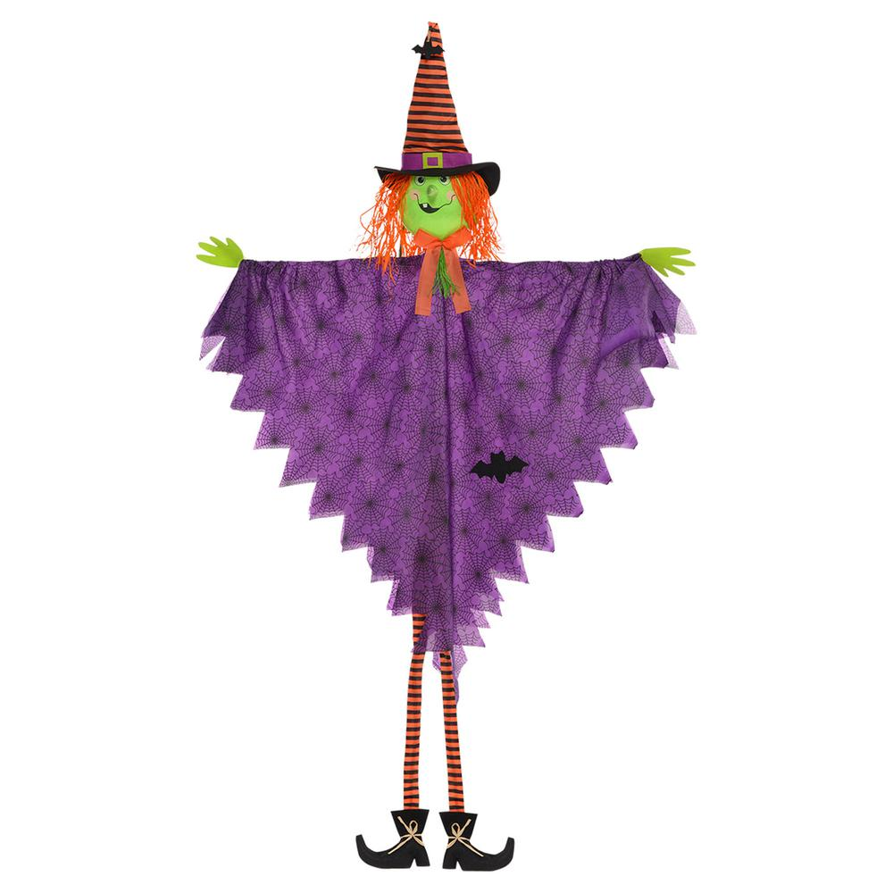 84 in. Halloween Large Hanging Witch Decoration