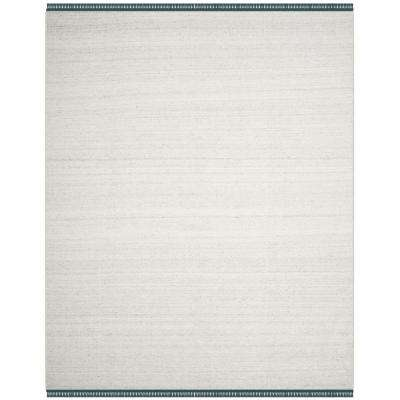 Kilim Ivory/Gray 8 ft. x 10 ft. Area Rug