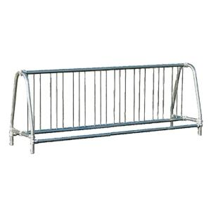 Ultra Play 8 ft. Galvanized Commercial Park Double Sided Bike Rack Portable by Ultra Play