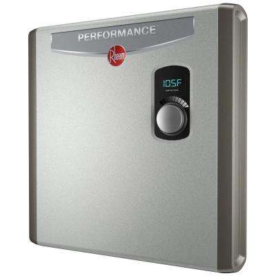 Performance 24 kw Self-Modulating 4.6 GPM Electric Tankless Water Heater