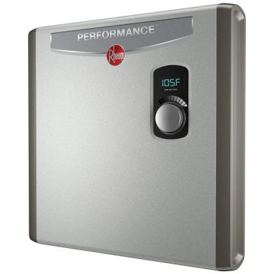 Performance 27 kw Self-Modulating 5.27 GPM Tankless Electric Water Heater