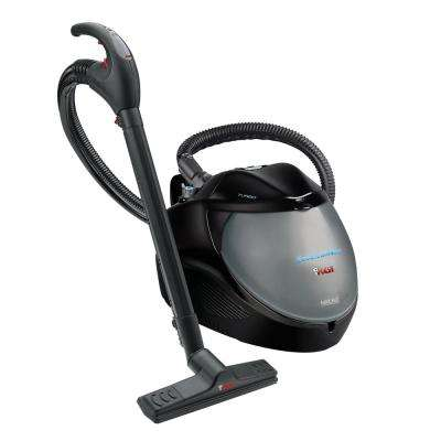 EcoSteamVac Turbo Corded Water Filter Steam and Vacuum Cleaner with Accessories